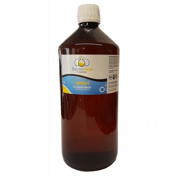 flavourless Base 1l - 80VG/20PG - zum Selbstmischen von Liquids