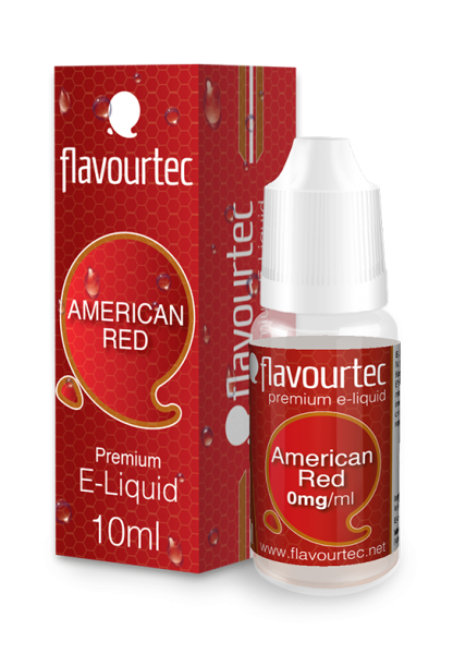 flavourtec AMERICAN RED (Tabakgeschmack) - E-Liquid made in EU