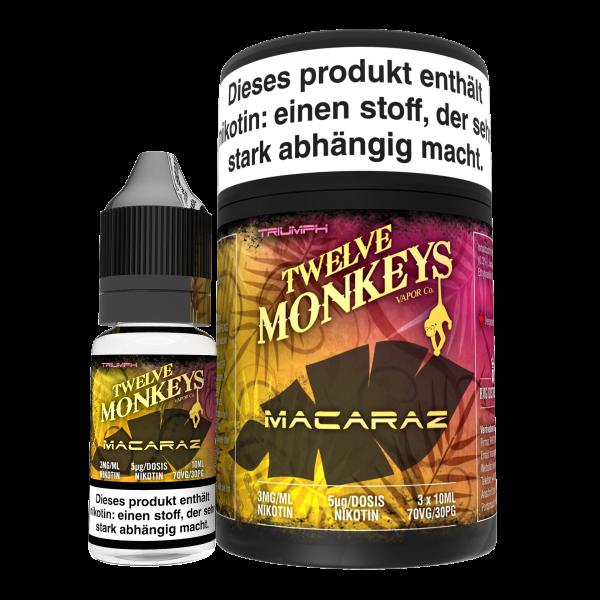 Twelve Monkeys, MacaRaz, 3x10 ml