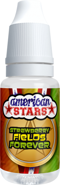 American Stars STRAWBERRY FIELDS FOREVER - American Style E-Liquid made in EU