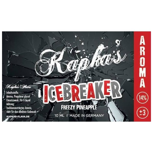 Kapka's Flava Aroma 10ml ICEBREAKER
