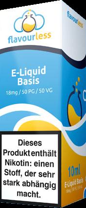 ! VPG Basen-Shot (50/50) 18mg - 10ml Wickeletikett - flavourless