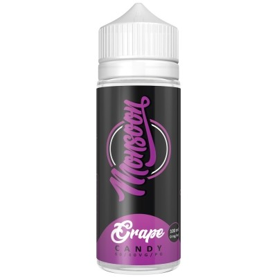 Monsoon GRAPE CANDY 100ml OVERDOSED - E-Liquid made in Germany