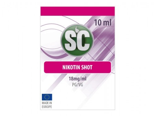 SC 50/50 Nikotin Power Shot, 10ml, 18mg/ml