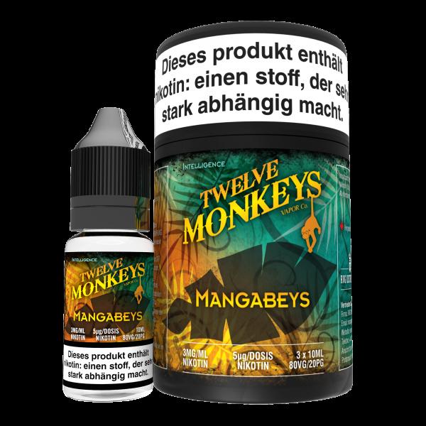 Twelve Monkeys, Mangabeys, 3x10 ml