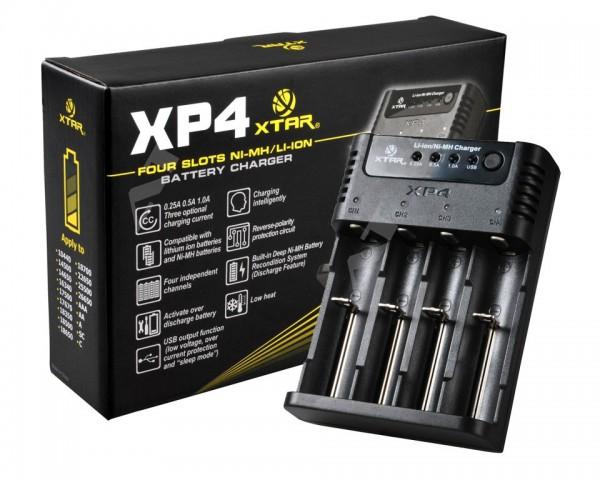 XP4 4-Schacht Ladegerät