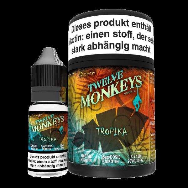 Twelve Monkeys Tropica, 3x10ml