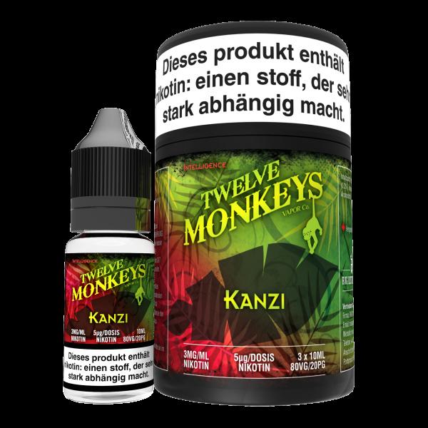 Twelve Monkeys, Kanzi, 3x10 ml